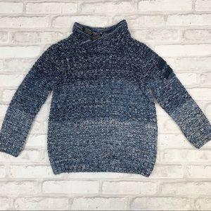 Zara Knitwear Kids Ombré Pullover Sweater Sz 5